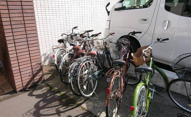 札幌市  放置自転車撤去 不用品回収 粗