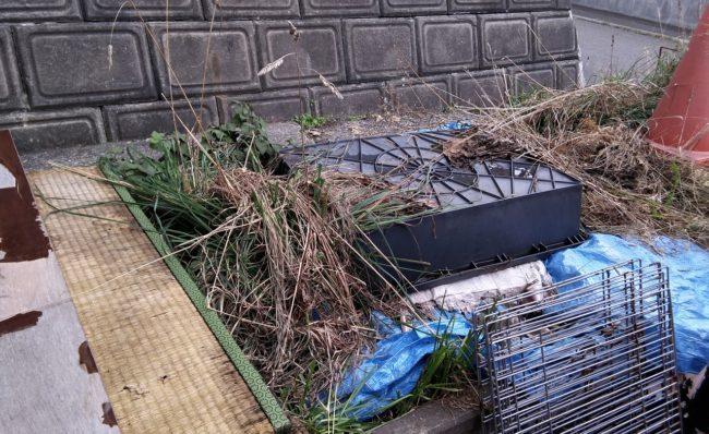 札幌市 車庫内残置物 不用品回収 粗大ご